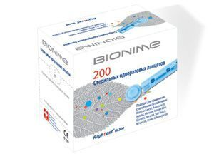 Ланцеты для глюкометра Bionime Rightest GL300 (200 шт.)